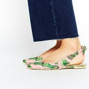 ASOS Shoes - ASOS Larissa Pineapple Sling Back